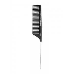 Cricket Carbon Comb C55m Medium Tooth Metal Rattail 8.75""